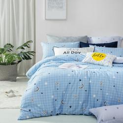 LOVO 乐我家纺 非凡主义 全棉床上四件套 1.8米床