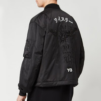 Y-3 Crft Graphic 刺绣款 男士夹克