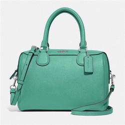 Coach 蔻驰 女士小号时尚潮流手提包/波斯顿包 F32202 多色可选 颜色:SV/GN