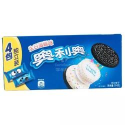 奥利奥(OREO) 夹心饼干 零食 生日蛋糕味194g