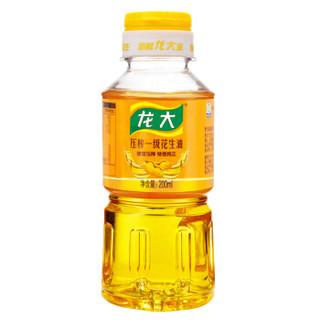 京东PLUS会员 : LONG DA 龙大 压榨一级 特香花生油 200ml