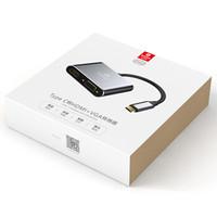 Biaze 毕亚兹 ZH42 Type-C转HDMI/VGA转换器 4K