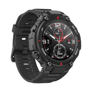 Amazfit T-Rex 岩黑色 户外智能手表 运动手表 50米防水 20天续航 GPS定位 华米科技出品 国家田径队推荐产品