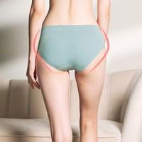 EMXEE 嫚熙 air纤薄无感系列 MX-N880088 孕妇中低腰内裤 淡绿色 XL