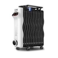 Meiling 美菱 MDN-RY131A-RL 电热油汀暖风机 白色