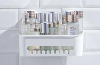 TAILI 太力 NICE系列 AW558 浴室方形置物架 米白色
