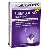 银联专享:Blackmores 澳佳宝 Sleep Sound Formula 缓解压睡眠片 30片