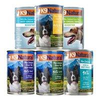 K9 Natural新西兰进口天然无谷宠物狗狗罐头湿粮狗零食罐头 混合370g*6罐