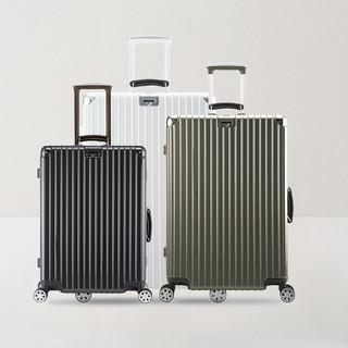 满足你的出行容量,24+26+28铝框拉杆箱系列