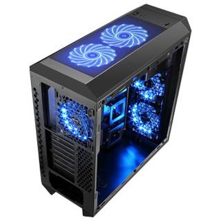 SAMA 先马 方舟 台式电脑机箱 ATX-III结构 双面钢化玻璃 炫彩RGB 黑色