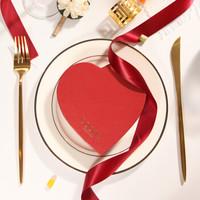 歌帝梵(GODIVA)比利时进口 红色心形礼盒6颗装 心形礼盒 混合口味72g *4件