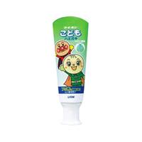 日本进口狮王(LION) 面包超人儿童牙膏蜜瓜味 40g 防蛀牙龋齿可吞咽 *3件