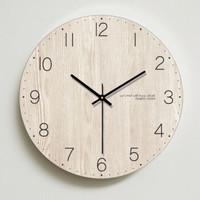 微信端 : 家用钟表客厅挂钟卧室美式时钟挂表静音