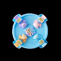 蓝宙(LANDZO) 儿童亲子益智玩具桌面游戏 青蛙吃豆玩具