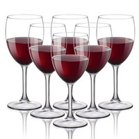 BORMIOLI ROCCO 波米欧利意大利进口杜西尼亚钢化杯高脚杯套装葡萄酒杯红酒杯 435ml六只 *3件