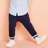 moomoo 童装男幼童裤子 徽章蓝 80/47 *4件