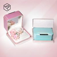 RHODON首饰盒公主欧式小奢华戒指盒项链盒情人节创意表白惊喜礼盒 *7件