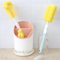 贝玛多吉 婴儿洗奶瓶刷 六件套粉色