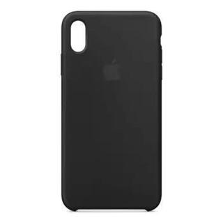 Apple iPhone XS Max 硅胶保护壳 黑