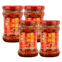 老干妈 风味豆豉番茄辣酱 210g*4瓶
