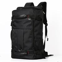 M&R.TWO大容量男士双肩包多功能三用户外背包 黑色超大版