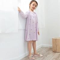 巴拉巴拉宝宝睡衣夏季薄款新款3-7岁儿童家居服睡裙