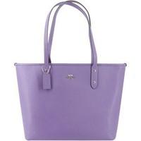 COACH 蔻驰 奢侈品 女士单肩手提包 紫色 F58846SVOCB