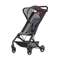 gb好孩子 婴儿推车 婴儿车 轻便折叠 黑粉色D328