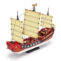 XINGBAO 星堡积木 XB-25002 广式古帆船 1892PCS