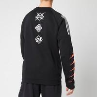 adidas 阿迪达斯 ID Fl GRFX 男款休闲运动卫衣