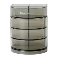 M&G 晨光 ABT98443 三层组合型塑料笔筒+晨光剪刀4把 +凑单品