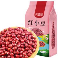 京荟堂 大珍珠红小豆 赤豆1kg( 红豆  五谷杂粮 粗粮 真空装 大米伴侣 真空包装) *5件
