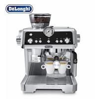 德龙半自动 感应研磨 智能压粉 19巴泵压萃取 实时控温 手动卡布奇诺奶泡系统咖啡机