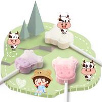 暖小糖 牛头奶棒棒糖网红糖果 约50支