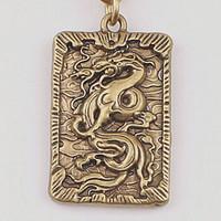 中国风铜饰黄铜挂牌吊牌生肖钥匙扣吊坠