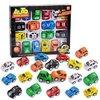 儿童益智玩具 迷你回力惯性城市卡通工程车模型玩具 迷你小赛车20只彩盒装