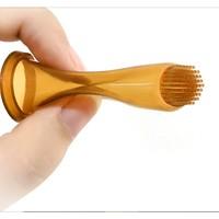 新笙记 婴儿牙齿清洁硅胶手指套 2支装