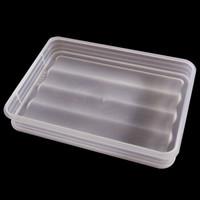 不分格家用冰箱冷冻收纳盒大容量厨房馄钝盒不粘饺子盒