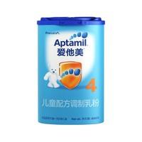 Aptamil 爱他美 婴幼儿配方奶粉 4段 800g 中文版 *2件