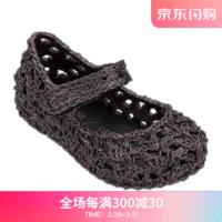 mini Melissa梅丽莎2019春夏编织鸟巢小童果冻鞋凉鞋32419 多彩色 内长16.5cm *4件