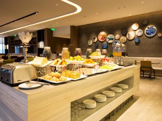 苏州高铁北站木莲庄酒店 舒适大床房1晚含早餐+下午茶