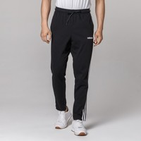 Adidas 排汗棉质 男款条纹运动长裤