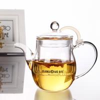 金灶(KAMJOVE) AC-10耐热玻璃泡茶壶过滤茶杯加厚煮茶器 可加热茶具 AC-10 /500毫升
