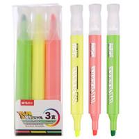 M&G 晨光 AHMV7601 星彩系列 3色荧光笔 3支/盒(实付1.4元) *2件 +凑单品