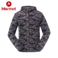 Marmot/土拨鼠户外男士运动保暖迷彩休闲开衫抓绒衣 *2件