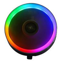 长城霜刃X120彩色发光散热器cpu散热器台式电脑散热器cpu风扇静音