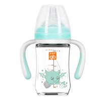 gb 好孩子 仿母乳质感宽口径婴儿奶瓶 180ml