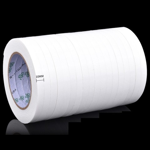 OVAL 欧文 强力海绵双面胶 白纸高粘款 10mm*3m 18卷