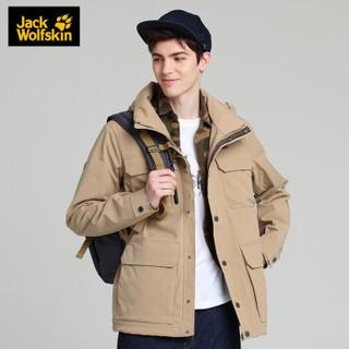 Jack Wolfskin 狼爪 男士冲锋衣外套 201-5120391 5605沙丘色 M