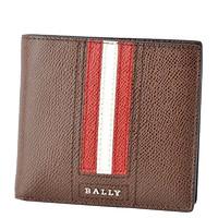 巴利(Bally) TEISEL.LT系列男士真皮条纹短款钱包钱夹男士钱包 男包 欧美时尚